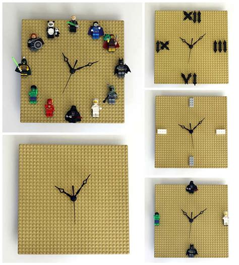 diy clock projects lego ideas diy projects craft ideas how to s for home decor with