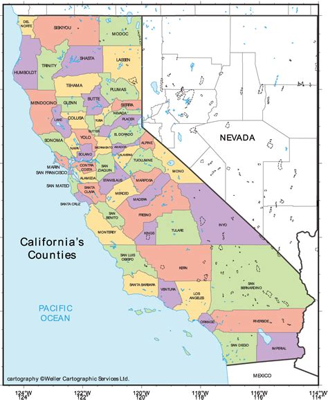 california cities map mapsof net