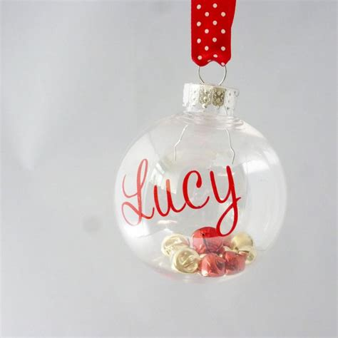 25 unique personalised christmas baubles ideas on