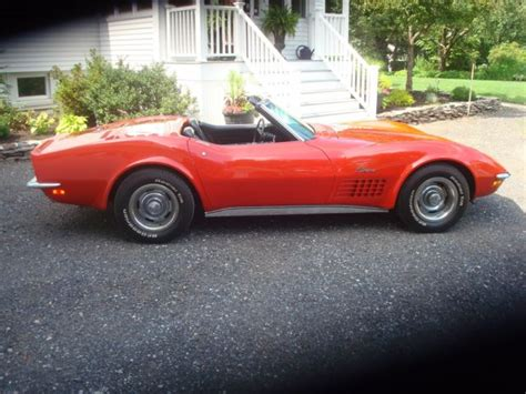 hardtop convertible corvette 1970 corvette convertible with matching hardtop