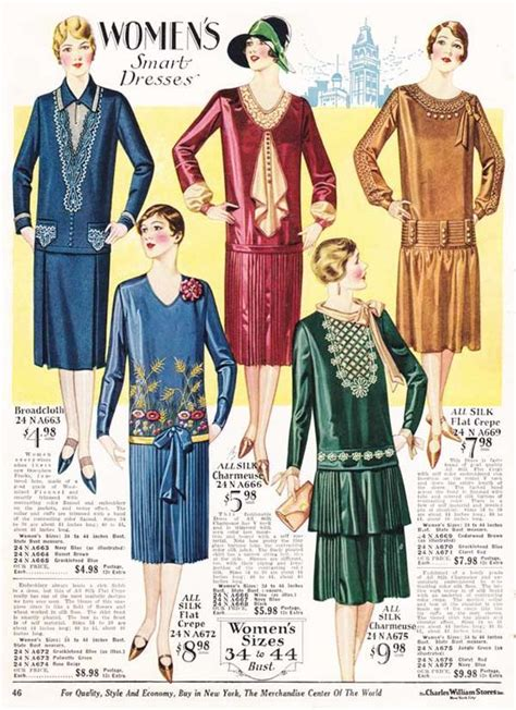 outfits for women in their 20s hairstylegalleries com women s dresses from a 1928 catalog vintage 1920s