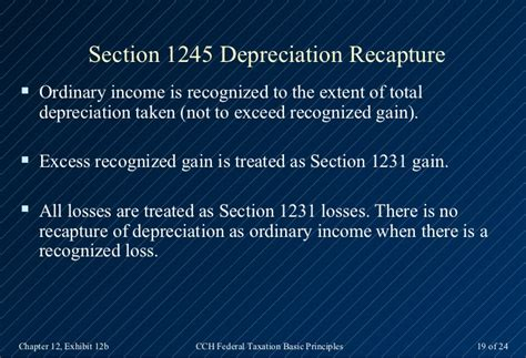 section 1231 gain loss 2013 cch basic principles ch12