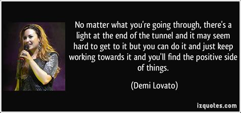end of the tunnel quotes quotesgram