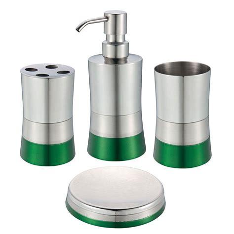 delta bathroom accessories sets delta silverton 3 piece bath accessory kit in polished chrome slv63 pc the home depot