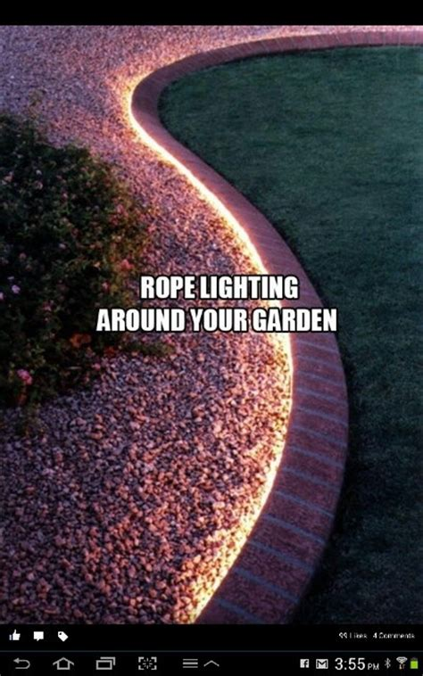 Rope Lighting Ideas by More Rope Lighting Ideas Outdoor Inspiration