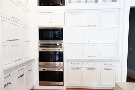 pull up cabinets transitional kitchen benjamin