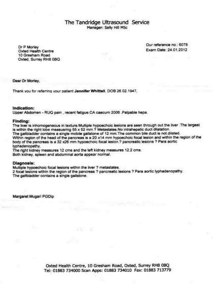 Confirmation Letter From Gp ct scan report sle nucradshare kamal singh nucradshare