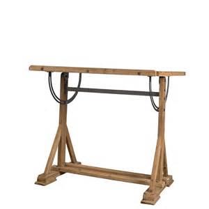 bureau d artiste en bois de sapin stilo dutchbone