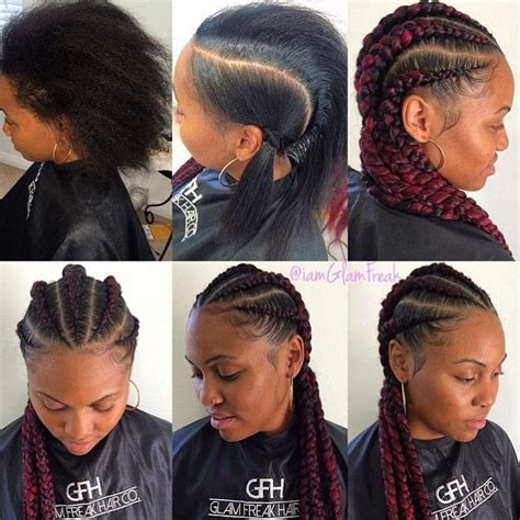 stylist feature love this goddess braid done by stylist feature in love with this braided transformation