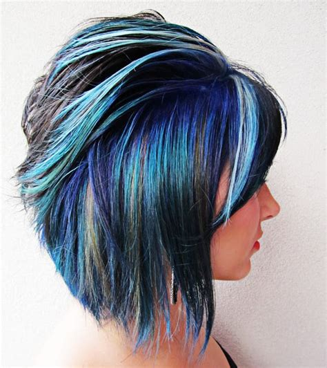short hairstyles with dye 24 colorful hairstyles to inspire your next dye job brit