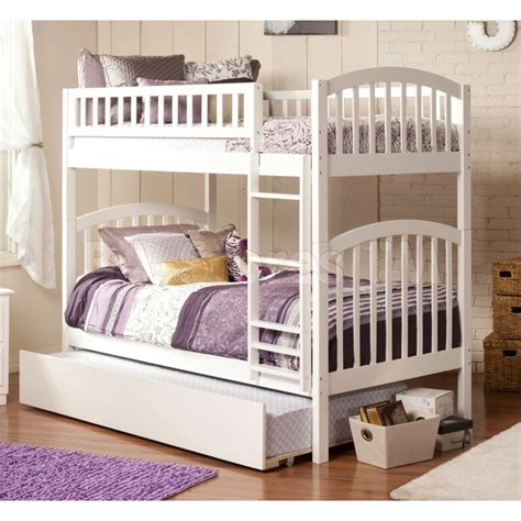 white bunk bed with trundle white twin bed with trundle san marino white twin bed