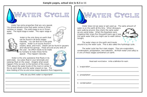Water Worksheets by Free Water Cycle Diagram Coloring Pages