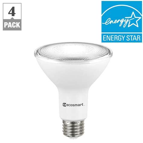 Ac 3 4 Pk Watt ecosmart 75 watt equivalent par30 dimmable led flood light bulb bright white 4 pack