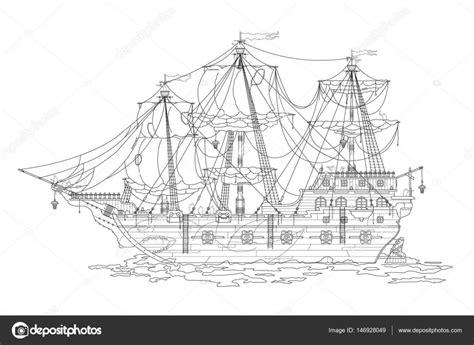 dessiner un bateau livre bateau de pirate dessin dessin anim 233 livre 224 colorier