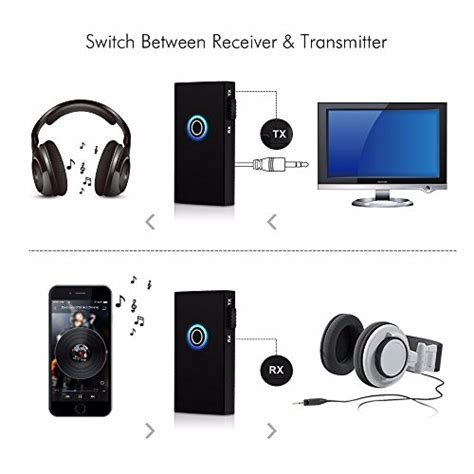 Iphone Ipod Wireless Audio And To Your Tv La Itv01 2 in 1 wireless bluetooth audio receiver transmitter stereo output just need connect to 3 5mm