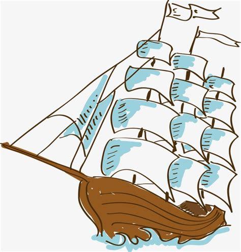 sail boat cartoon hand painted cartoon sailboat sailboat cartoon sailboat