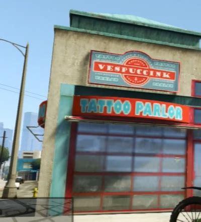 tattoo parlor gta 5 gta v vespuccink tattoo parlor orcz com the video