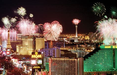 new year 2016 las vegas events vegas rolls out fireworks for new year s