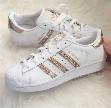 adidas originals sparkly adidas shoes gold shoes bling