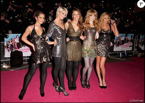 Aloud At The St Trinians Premiere by Cheryl Cole Kimberley Walsh Nicola