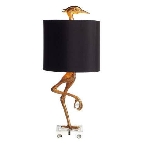 Yard Art Patio Fireplace Crane Table Lamp So That S Cool