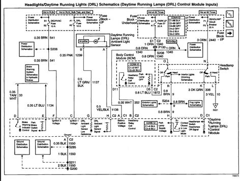 2002 pontiac grand prix headlight wire diagram