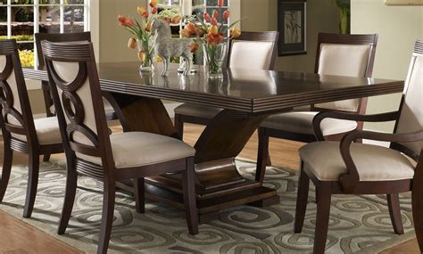 Dark Wood Dining Room Set   Marceladick.com