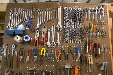 best way to organize tools in garage the basics of tool organization systems part 1 pegboard