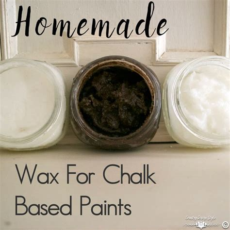 diy chalk paint australia 1000 ideas about waxing on