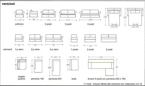 misure divano letto 2 posti stunning divano 2 posti dimensioni ideas skilifts us
