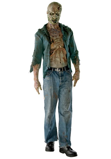 zombie costume how to make a zombie costume with makeup deluxe decomposed zombie costume