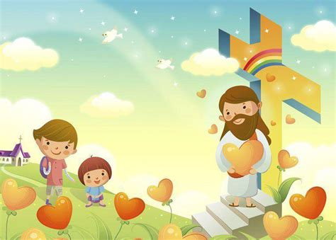 wallpapers imagenes religiosas animadas fondos para fotos jesus y los ninos