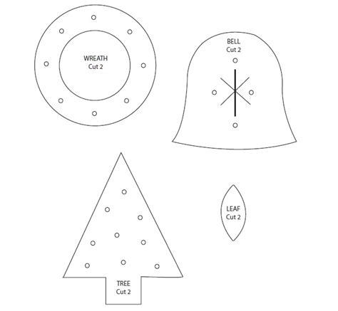 moldes de adornos fieltro para arbol adornos con fieltro para el arbol de navidad 171 ideas