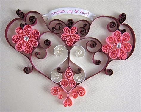 Handmade Craft Ideas Paper Quilling - gift card from paper quilling projects ideas