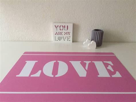 buro onderlegger hippekinderkamers bureau onderlegger in roze en wit