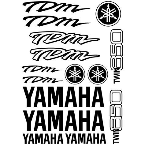 Yamaha Tdm Aufkleber stickers yamaha tdm twin 850 pas cher