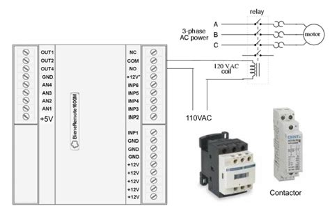 contactor connection