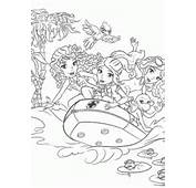 Lego Rubber Boat Coloring Page For Girls Printable Free Friends
