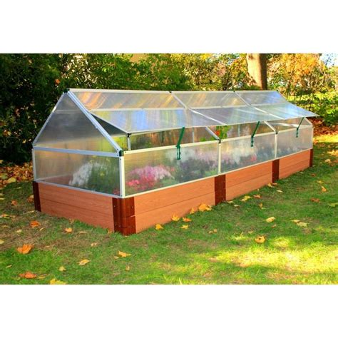 tall raised garden beds 4 x 12 polycarbonate greenhouse with 12 quot tall composite