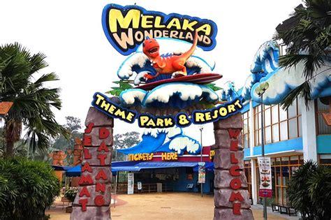theme park adalah tempat menarik di melaka untuk dikunjungi cutisini