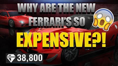 Why Ferrari Is So Expensive by Why Are The New Ferrari S So Expensive Racing Rivals