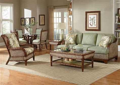 rattan living room chair rattan and wicker living room furniture sets living room
