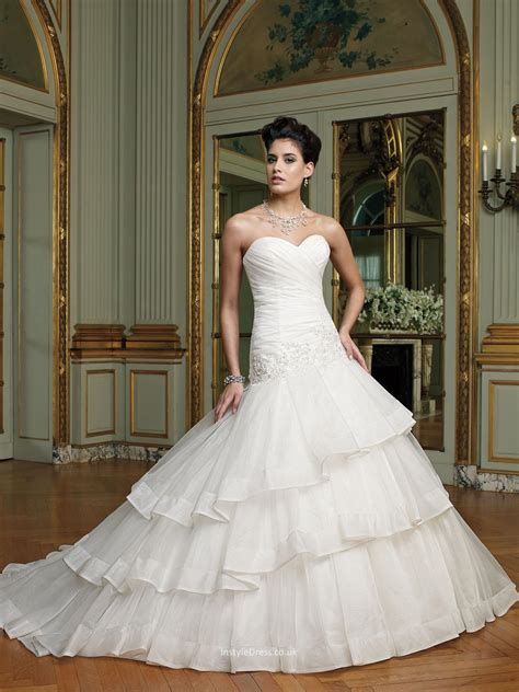 two piece wedding dress uk with illusion beaded