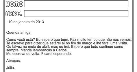 Carta Formal E Informal 8o Ano by Lipitipi Atividades E Projetos Fundamental I G 234 Nero