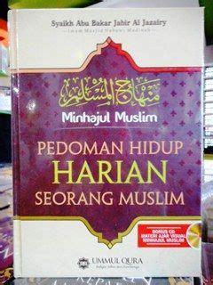 Pedoman Hidup Harian Seorang Muslim 1 syaikh abu bakar jabir al jazairy archives wisata buku islam