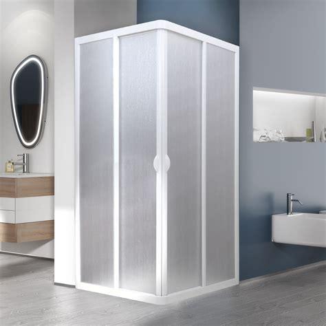 box doccia in acrilico box doccia angolare 70x70 cm ante scorrevoli pannello