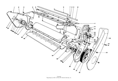 Sn Lower 1 toro 38165 s 620 snowthrower 1987 sn 7000001 7999999 parts diagram for lower frame assembly