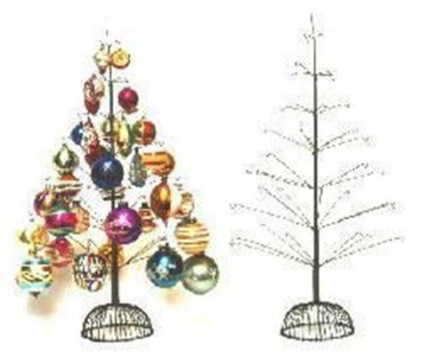 mini wire christmas tree mini trees pinterest