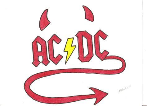 ACDC LOGO by LilyLondon9 on DeviantArt Ac Dc Logo Images