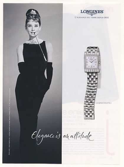 Vintage Jewelry and Watches Ads of the 2000s